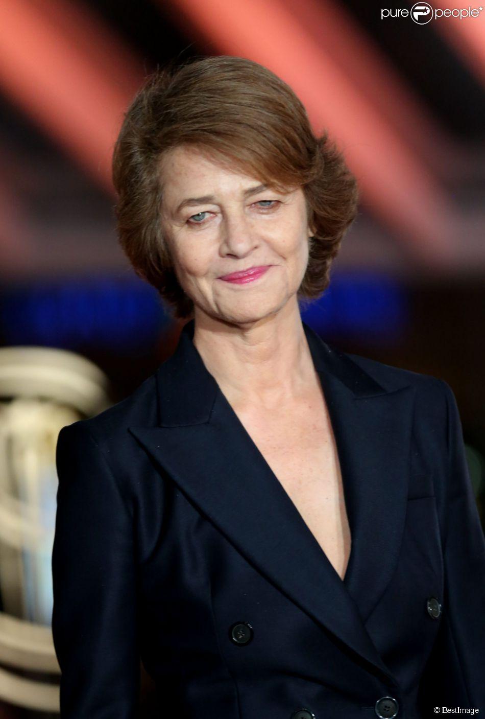 Charlotte Rampling (habillée en Dior) - Troisieme jour du 13e Festival International du Film de Marrakech le 1er décembre 2013.