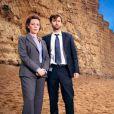 """David Tennant et Olivia Coleman dans la première saison de """"Broadchurch"""", en 2013."""