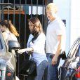 Kim Kardashian quitte un studio photo à Van Nuys. Los Angeles, le 14 mai 2014.