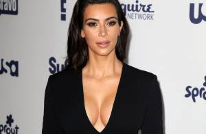 Kim Kardashian : Décolletée avec Liz Hurley... avant un mariage en Italie ?