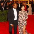 Kanye West et Kim Kardashian au Costume Institute Gala à New York le 6 mai 2013.