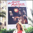 Valérie Kaprisky présente La Femme publique au Festival de Cannes en 1984
