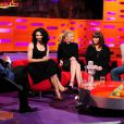 Conchita Wurst en interview sur le plateau du Graham Norton Show à Londres, le 15 mai 2014.