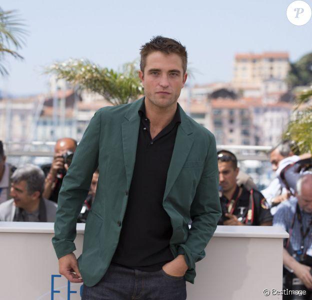 "Robert Pattinson - Photocall du film ""The Rover"" lors du 67e Festival international du film de Cannes, le 18 mai 2014"