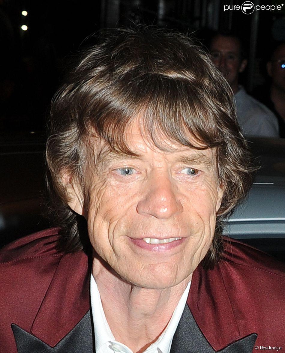 Mick Jagger à Londres, le 14 juillet 2013.