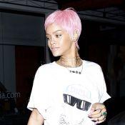Rihanna : La perruque rose, son nouvel accessoire fétiche