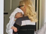 Gwen Stefani : Stylée et tendre avec Apollo pour une visite chez la psy