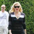 Gwen Stefani, radieuse à sa sortie du cabinet du Dr. Adrien Survol Rivin à Sherman Oaks. Le 20 mai 2014.