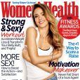 Jessica Alba en couverture du magazine Women's Health. Mars 2013.