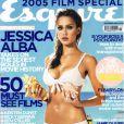 Jessica Alba en couverture du magazine Esquire. Novembre 2005.