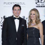 John Travolta et Kelly Preston, Andrea Bocelli et sa Veronica pour PuertoAzul