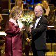 La cantatrice Renee Fleming récompensée par le roi Carl Gustaf