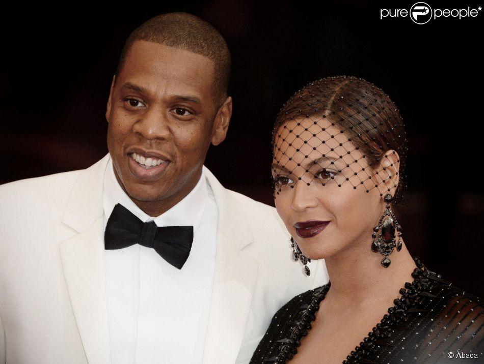 Jay Z et Beyoncé lors du Met Gala à New York, le 5 mai 2014.