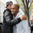Jay Z et Kanye West à New York. Avril 2013.