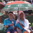 Novak Djokovic, lors du second jour des internationaux de France, à Roland-Garros, le 26 mai 2014