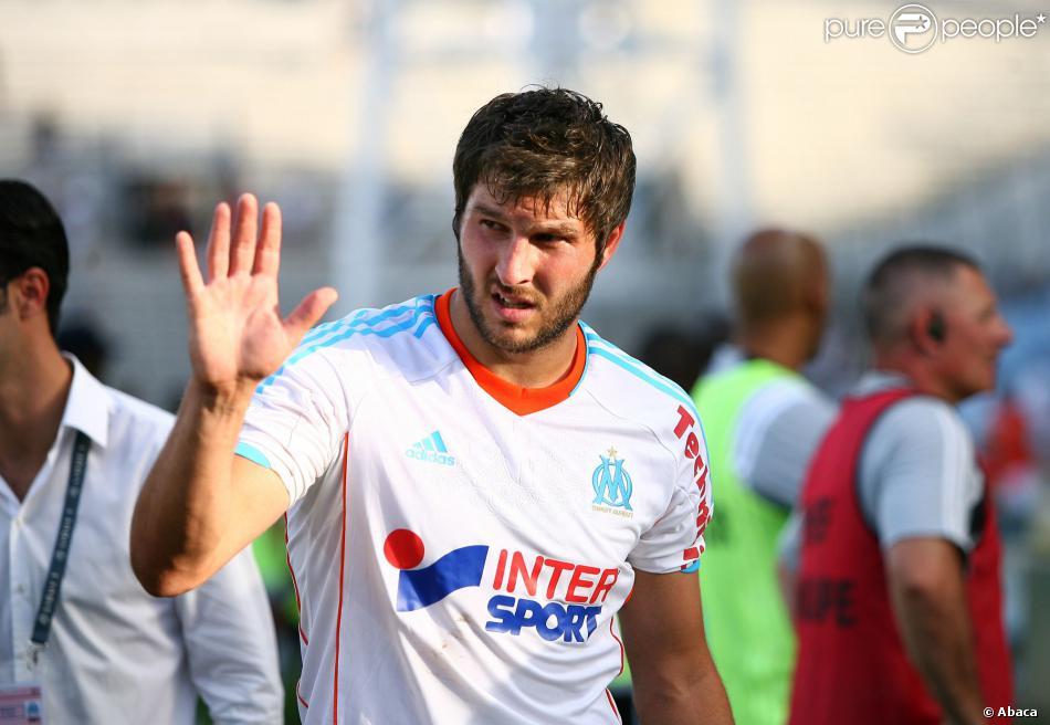 André-Pierre Gignac à Marseille, le 19 août 2012.