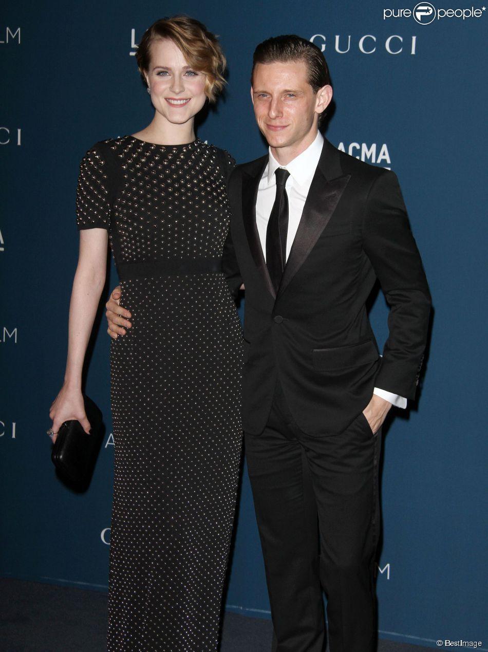 Evan Rachel Wood et Jamie Bell à Los Angeles, le 2 novembre 2013.
