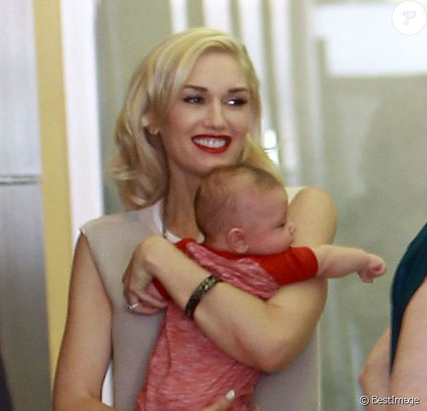 Gwen Stefani est allée dans un salon d'acupuncture à Los Angeles, le 30 mai 2014.