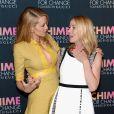 Blake Lively et Frida Giannini à la soirée Gucci pour célébrer le premier anniversaire de Chime for Change, le 3 juin 2014