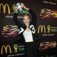 Jaime King assiste à la soirée FIFA World Cup McDonald's, célébrant la sortie du nouveau design de l'emballage des frites et du jeu Peel Play Ole. New York, le 5 juin 2014.