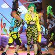 """Katy Perry a démarré sa tournée """"Prismatic Tour"""" en donnant son premier concert à Belfast. Le 7 mai 2014."""