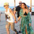 Jennifer Lopez et Casper Smart à Miami, le 5 mai 2013.