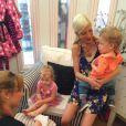 Tori Spelling a célébré en grand pompe les 6 ans de sa fille Stella dans un spa du quartier d'Encino, le 8 juin 2014.