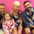 Tori Spelling a célébré en grand pompe les 6 ans de sa fille Stella dans un spa du quartier d'Encino, le 9 juin 2014.