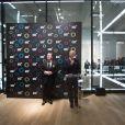 Exclusif - Michel Adé et Lutz Bethge au 23ème Prix Montblanc de la Culture 2014 en France à la Fondation Rosenblum à Paris le 11 juin 2014.