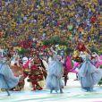 La cérémonie d'ouverture de la Coupe du monde 2014 s'est déroulée à Sao Paulo au Brésil, le 12 juin 2014.