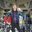 Mick Jagger au concert des Rolling Stones au Stade de France à Paris, le 13 juin 2014.
