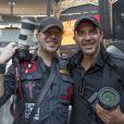Pascal Obispo et Nikos Aliagas Pascal Obispo et Nikos Aliagas au concert des Rolling Stones au Stade de France à Paris, le 13 juin 2014.
