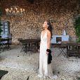 Alicia Hannah, le jour de son mariage, le 31 mai 2014.