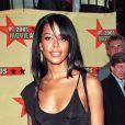 Aaliyah aux MTV Movie Awards en juin 2001.
