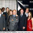 Benito Martinez, Michael Jace, Catherine Dent et Michael Chiklis, à Beverly Hills, le 5 septembre 2003.