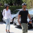 Kelly Rowland et son mari Tim Witherspoon à Beverly Hills, le 23 mai 2014.