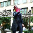 """Prix Spécial - Exclusif - Sandrine Quétier et son groupe """"The Jokers"""", composé de Santi, Ludo et Thomas, ont joué au Mandarin Oriental à l'occasion de la Fête de la Musique à Paris. Le 21 juin 2014 No Web No Blog pour Belgique et Suisse"""