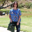Exclusif - Jennifer Love Hewitt, jeune maman d'une petite Autumn, dans les rues de Santa Monica, le 19 juin 2014. La star a dévoilé une toute nouvelle tête.