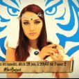 Delphine Wespiser dans la bande-annonce des 25 ans de Fort Boyard, sur France 2 à partir du samedi 28 juin 2014, sur France 2