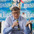 Bill Gates - Festival Solidays 2014 à Paris le 27 juin 2014.