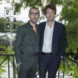 Alessandro Sartori et Antoine Arnault - Défilé Berluti à l'Ecole des Mines, collection homme printemps-été 2015 à Paris le 27 juin 2014.