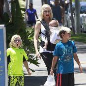 Gwen Stefani : Maman stylée et détendue avec ses trois garçons