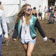 Cressida Bonas au festival de Glastonbury, le 28 juin 2014.