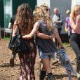 Cressida Bonas - Festival 2014 Glastonbury en Angleterre, le 29 juin 2014