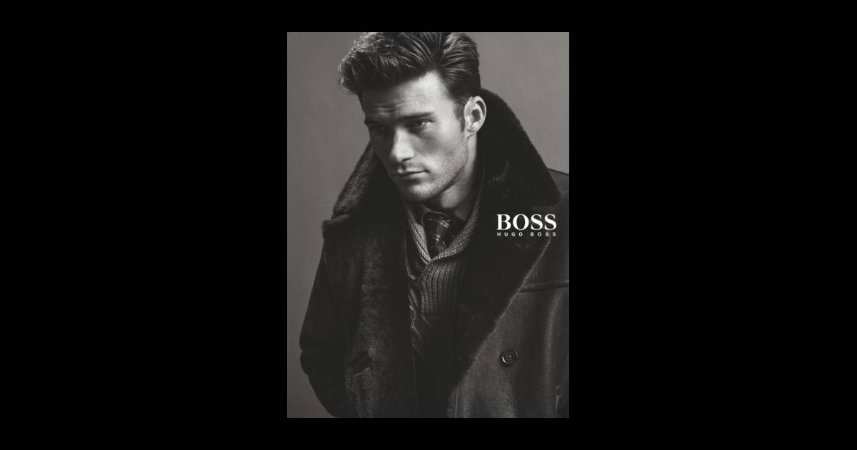 scott eastwood mannequin pour la marque boss. Black Bedroom Furniture Sets. Home Design Ideas