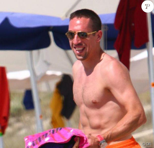 Franck Ribery en vacances à Ibiza