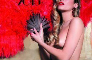 Clara Morgane dévoile la couverture sexy et envoûtante de son calendrier 2015