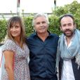 Julie De Bona et Arnaud Sadowski assistent à la première du film Prêt à tout lors du 11e festival Les Hérault du cinéma et de la télé 2014 au Cap d'Agde, le 4 juillet 2014.