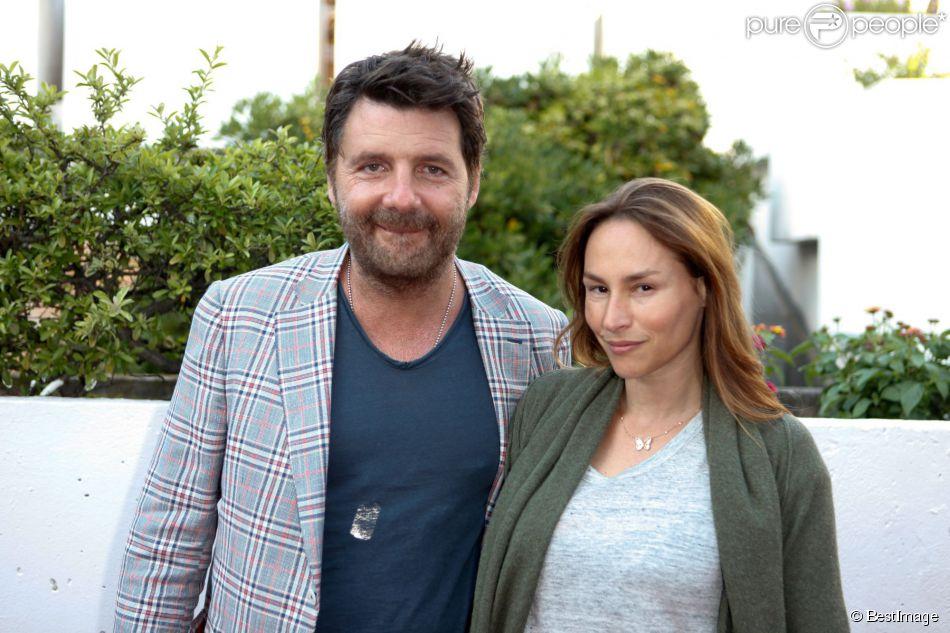 Philippe Lellouche et Vanessa Demouy assistent à la première du film Prêt à tout lors du 11e festival Les Hérault du cinéma et de la télé 2014 au Cap d'Agde, le 4 juillet 2014.
