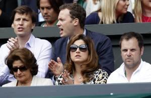 Wimbledon : Roger Federer ému aux larmes devant Mirka et leurs jolies jumelles